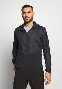 Salomon - AGILE HOODIE - Outdoor jacket - black - 0