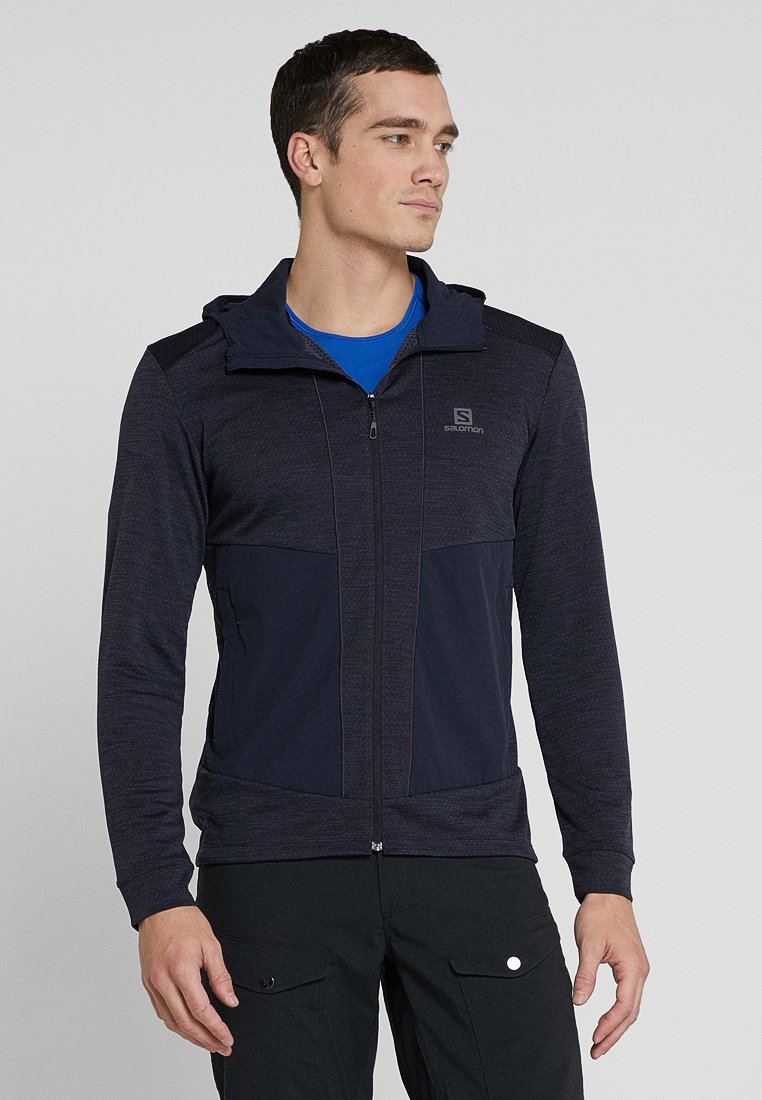 Salomon - OUTLINE - Fleece jacket - night sky heather