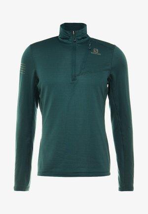 GRID MID - Bluzka z długim rękawem - green gables