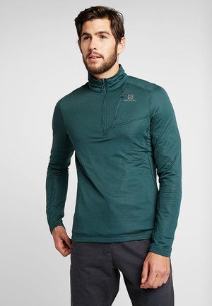 GRID MID - Maglietta a manica lunga - green gables