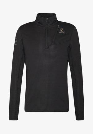 GRID MID - Bluzka z długim rękawem - black