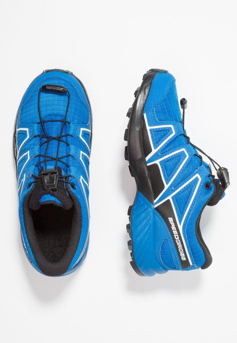 Salomon - SPEEDCROSS CSWP - Hiking shoes - indigo bunting/sky diver/white