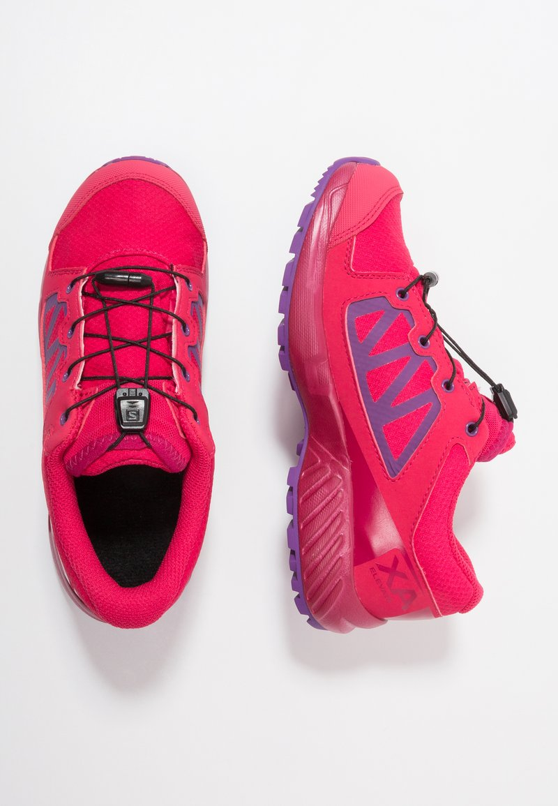 Salomon - XA ELEVATE CSWP  - Scarpe da trail running - virtual pink/cerise/purple magic