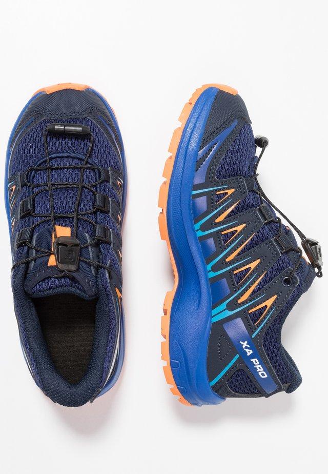 XA PRO 3D - Hikingskor - medieval blue/mazarine blue/tangelo