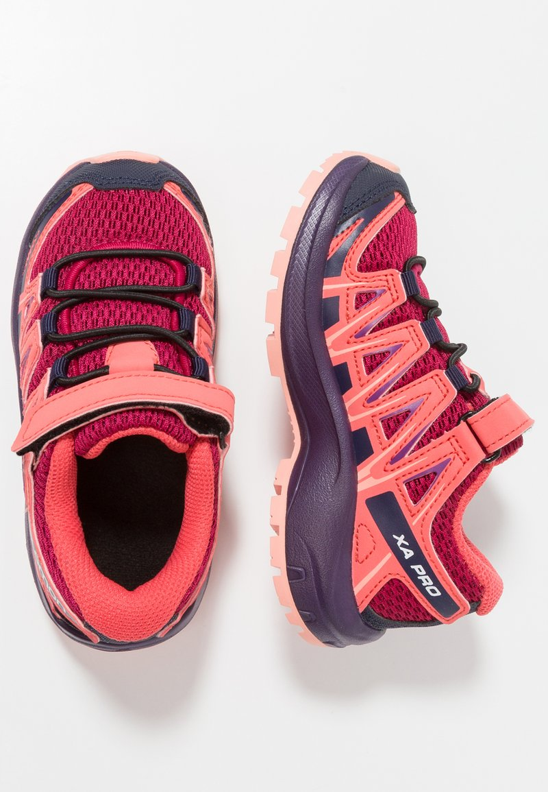 Salomon - XA PRO 3D - Hiking shoes - cerise/acai/bird of paradise