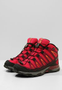 Salomon - X-ULTRA MID GTX - Outdoorschoenen - virtual pink/beet red/living coral - 3