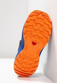 Salomon - XA PRO 3D - Hiking shoes - medieval blue/mazarine blue/tangelo - 5