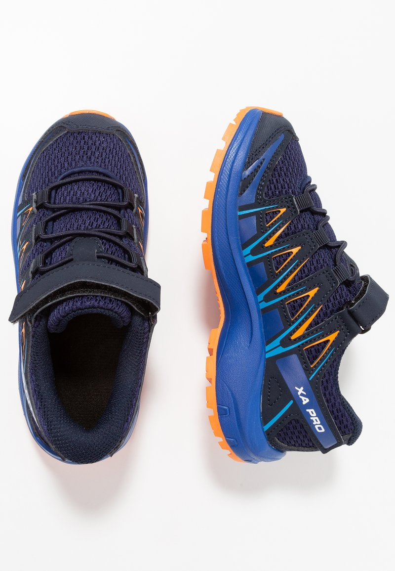 Salomon - XA PRO 3D - Hiking shoes - medieval blue/mazarine blue/tangelo