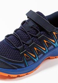 Salomon - XA PRO 3D - Hiking shoes - medieval blue/mazarine blue/tangelo - 2