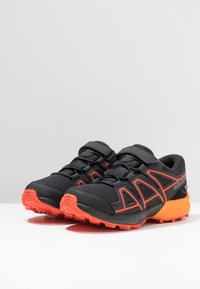 Salomon - SPEEDCROSS CSWP  - Outdoorschoenen - black/tangelo/cherry tomato - 3