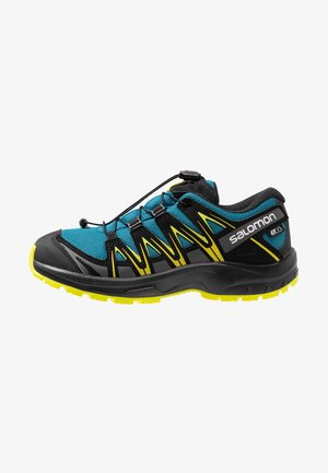 XA PRO 3D CSWP - Hiking shoes - lyons blue/black/sulphur spring
