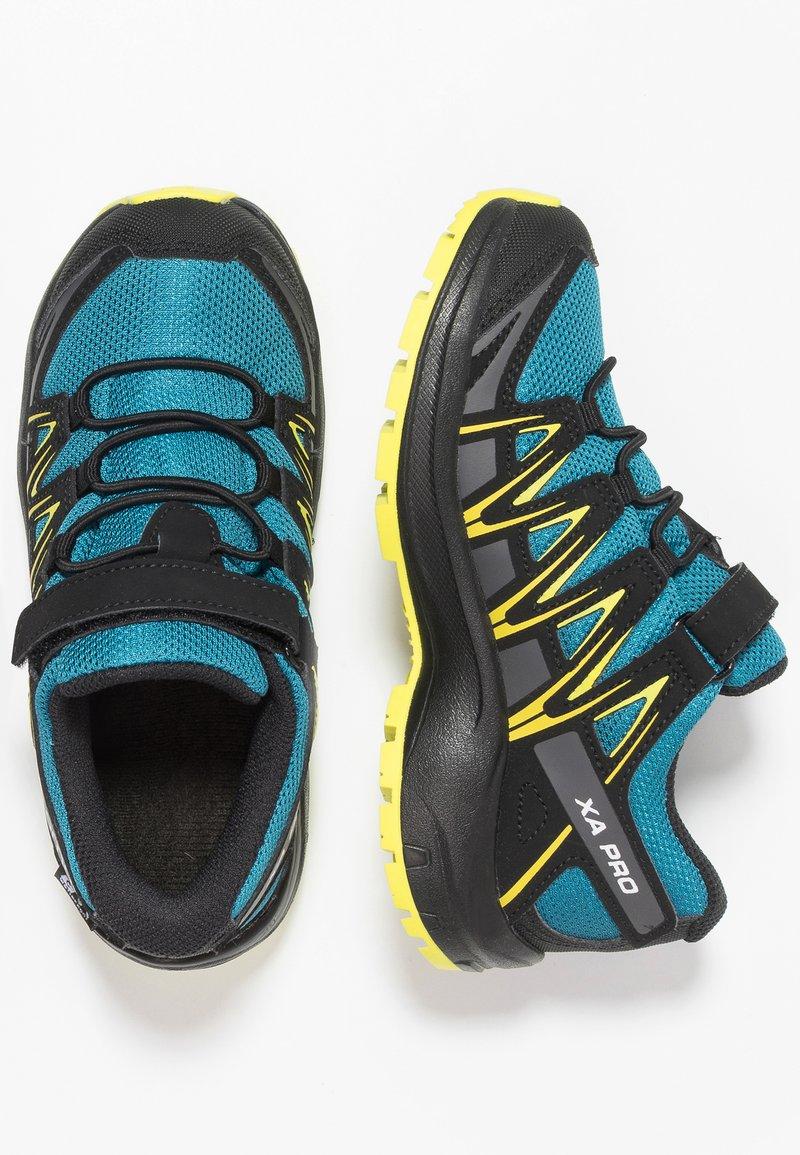 Salomon - XA PRO 3D CSWP  - Hikingschuh - lyons blue/black/sulphur spring