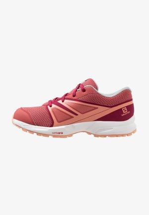 SENSE - Hiking shoes - garnet rose/beet red/coral almond