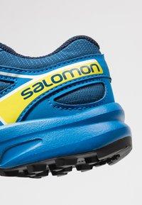Salomon - SPEEDCROSS BUNGEE - Outdoorschoenen - poseidon/sky diver/sulphur spring - 5