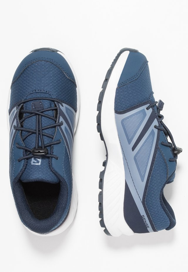 SENSE CSWP - Hiking shoes - sargasso sea/navy blazer/flint