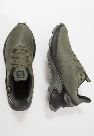 ALPHACROSS BLAST CSWP - Hiking shoes - olive night/black/castor gray