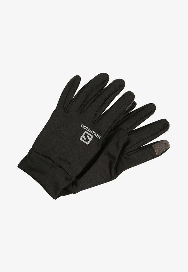 AGILE WARM GLOVE - Fingerhandschuh - black