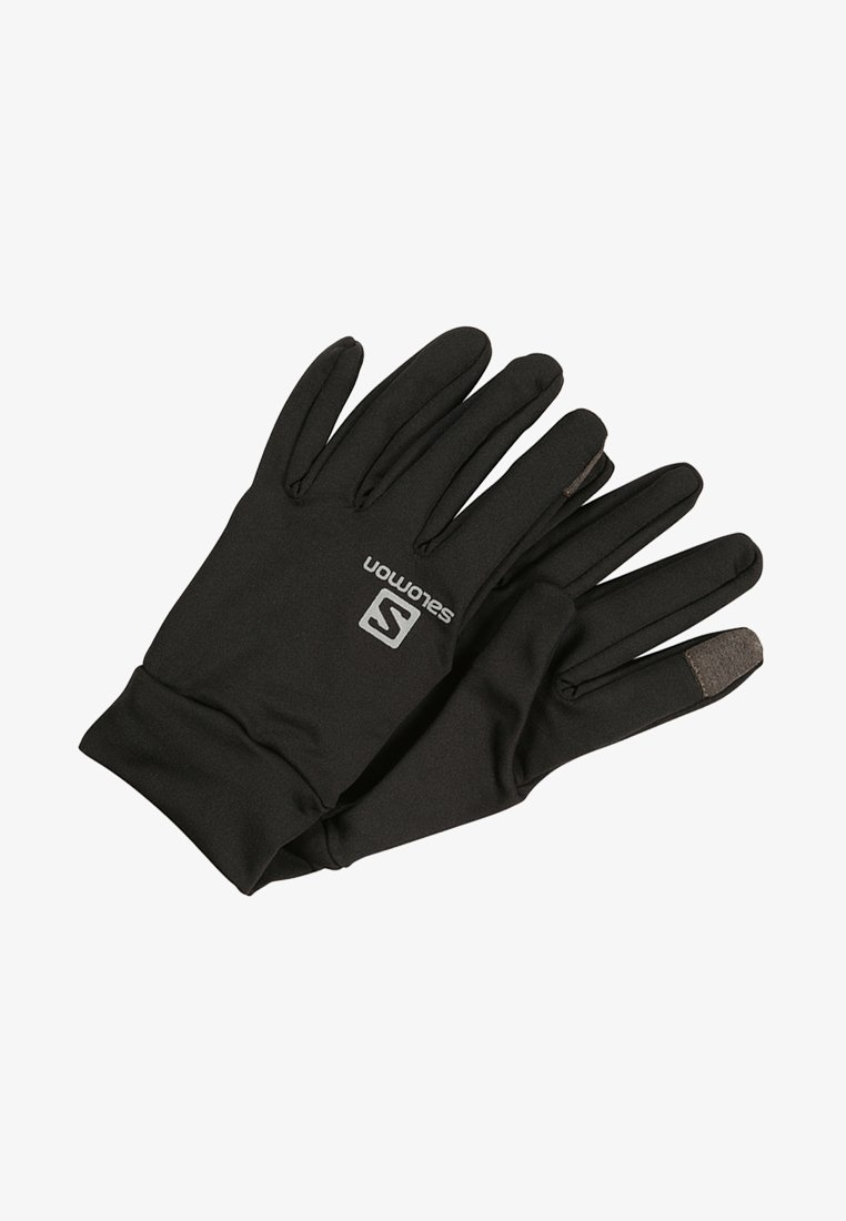 Salomon - AGILE WARM GLOVE - Fingerhandschuh - black