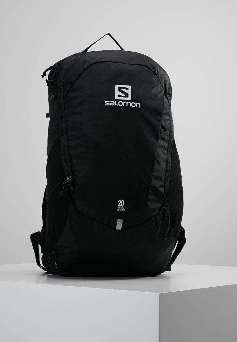 Salomon - TRAILBLAZER 20 - Retkeilyreppu - black/black