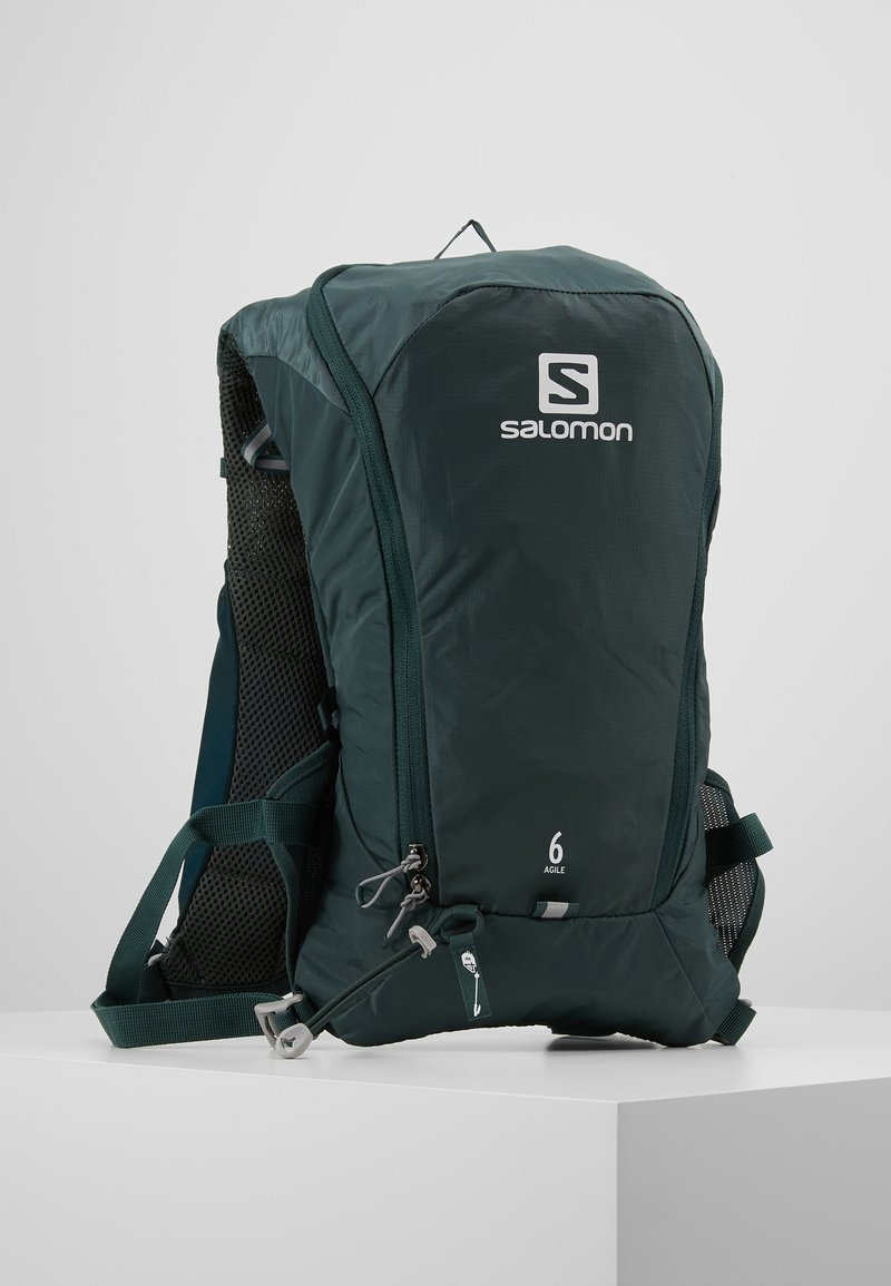 Salomon - AGILE SET - Hydration rucksack - green gables
