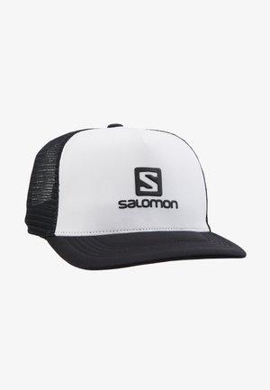 KAPPE SUMMER LOGO CAP M - Cap - white/black