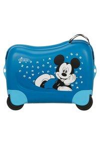 Samsonite - ZUM DRAUFSITZEN - Wheeled suitcase - blue - 1