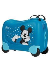 Samsonite - ZUM DRAUFSITZEN - Wheeled suitcase - blue - 3