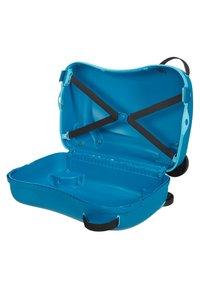 Samsonite - ZUM DRAUFSITZEN - Wheeled suitcase - blue - 2