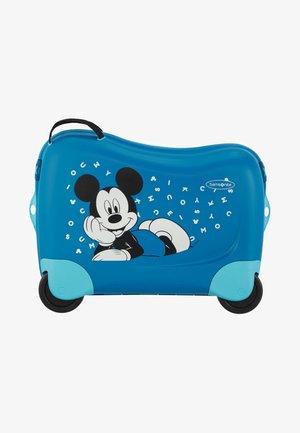 ZUM DRAUFSITZEN - Wheeled suitcase - blue