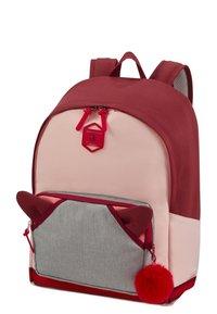 Samsonite - SCHOOL SPIRIT - School bag - burgundy pink mascot - 2