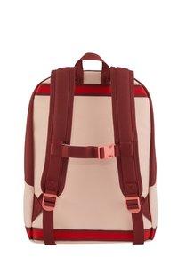 Samsonite - SCHOOL SPIRIT - School bag - burgundy pink mascot - 1