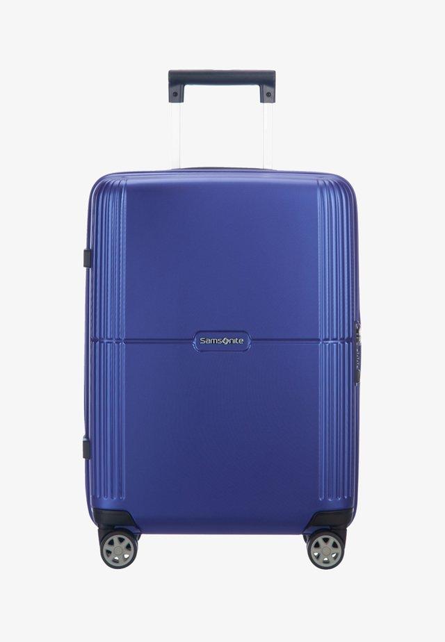 Wheeled suitcase - royal blue