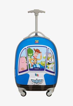 DISNEY ULTIMATE - Wheeled suitcase - blue/grey