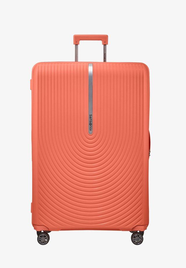 HI-FI  - Wheeled suitcase - bright coral