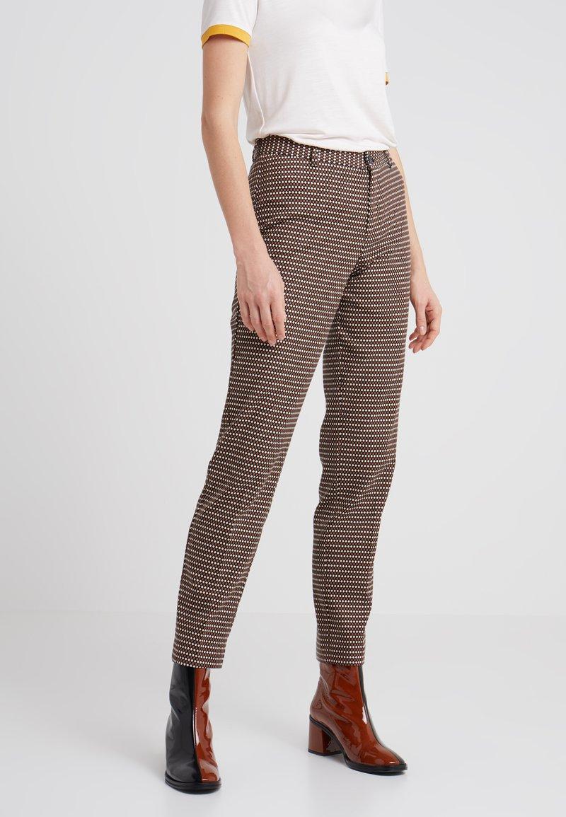 Sand Copenhagen - DORI - Trousers - schwarz