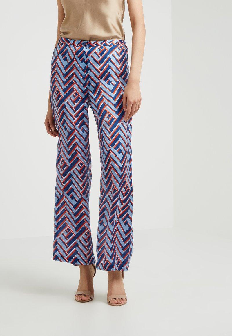 Sand Copenhagen - SASHA FLEX - Trousers - blue