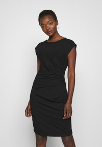 Sand Copenhagen - DANJA - Shift dress - black - 0