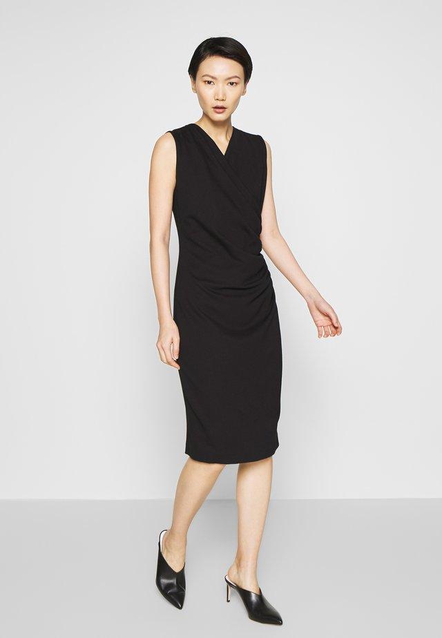 NAOMA - Sukienka etui - black