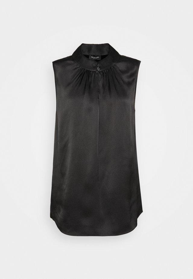 DOUBLE - Bluse - black