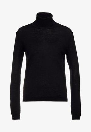 FELLINITRISH - Stickad tröja - black