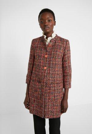 NEW GALISA - Classic coat - medium red