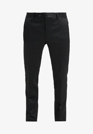 PAUL NORMAL  - Suit trousers - black