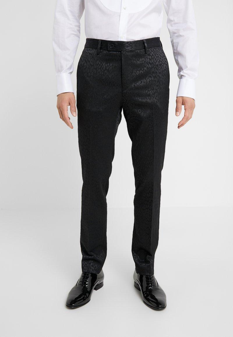 Sand Copenhagen - PAUL NORMAL  - Suit trousers - black