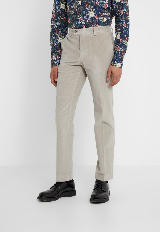 CRAIG - Jakkesæt bukser - beige