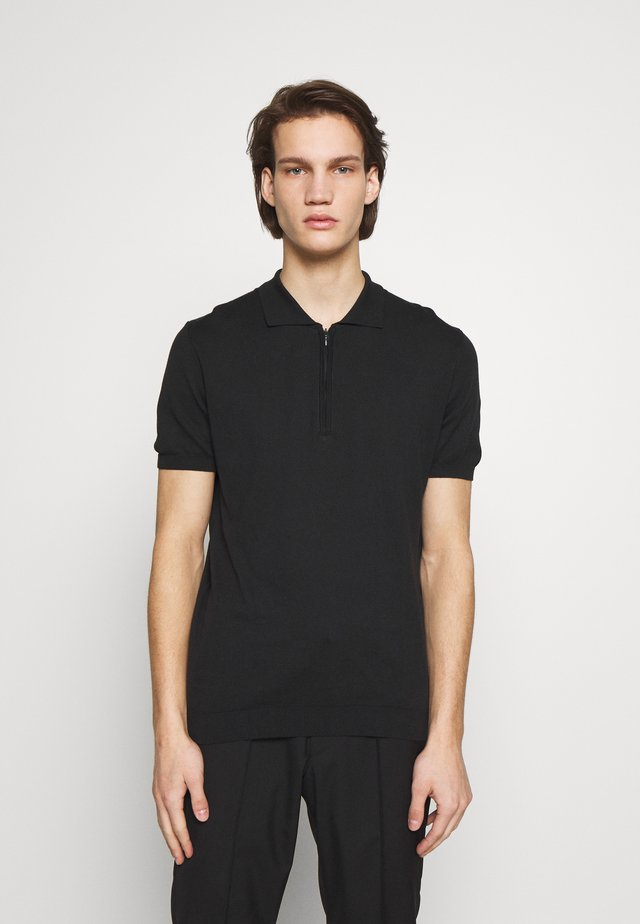 RICOZ - Polo shirt - black