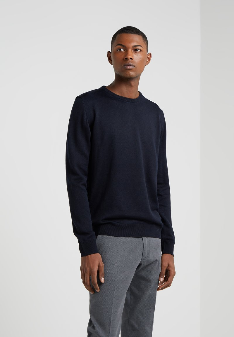 Sand Copenhagen - TWO TONE - Jumper - navy