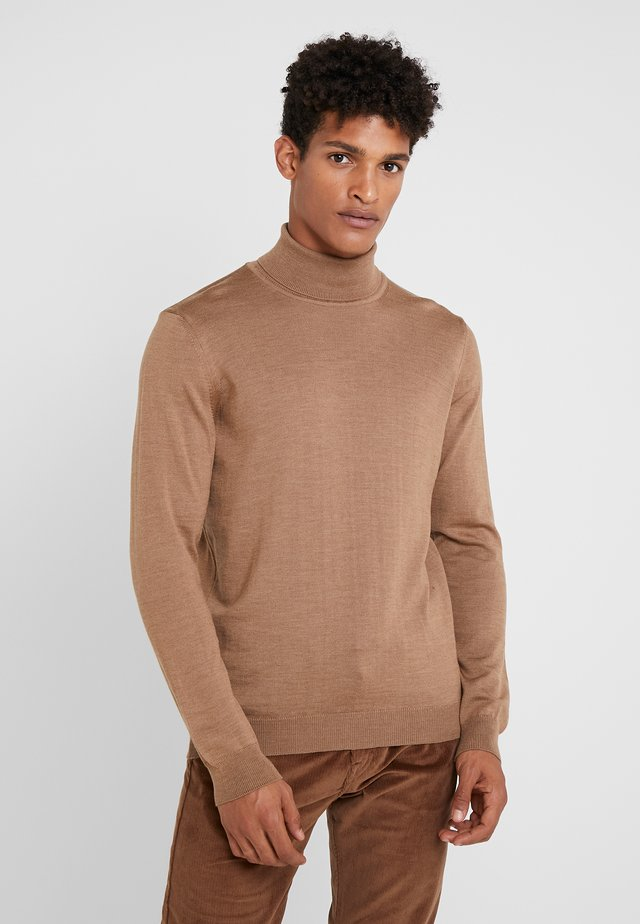 Strickpullover - light camel