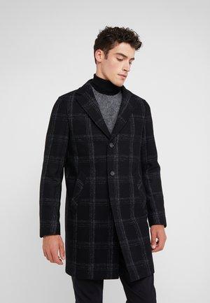 RETRO COAT - Wollmantel/klassischer Mantel - black