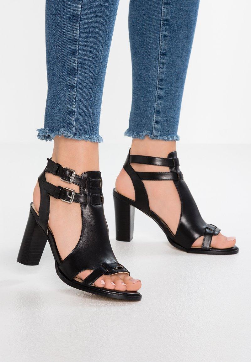San Marina - VIBOLA - High heeled sandals - noir