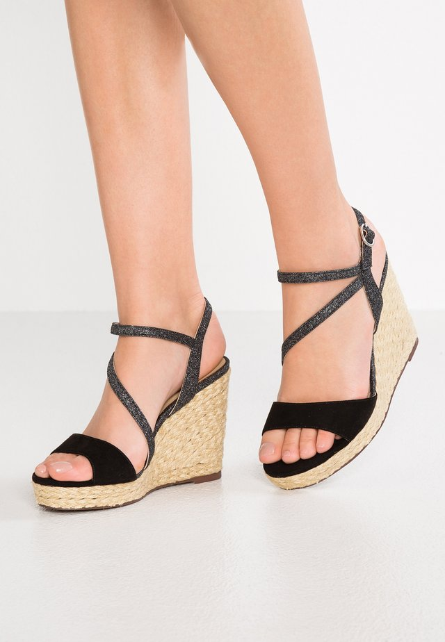 GAYANIA - High heeled sandals - noir